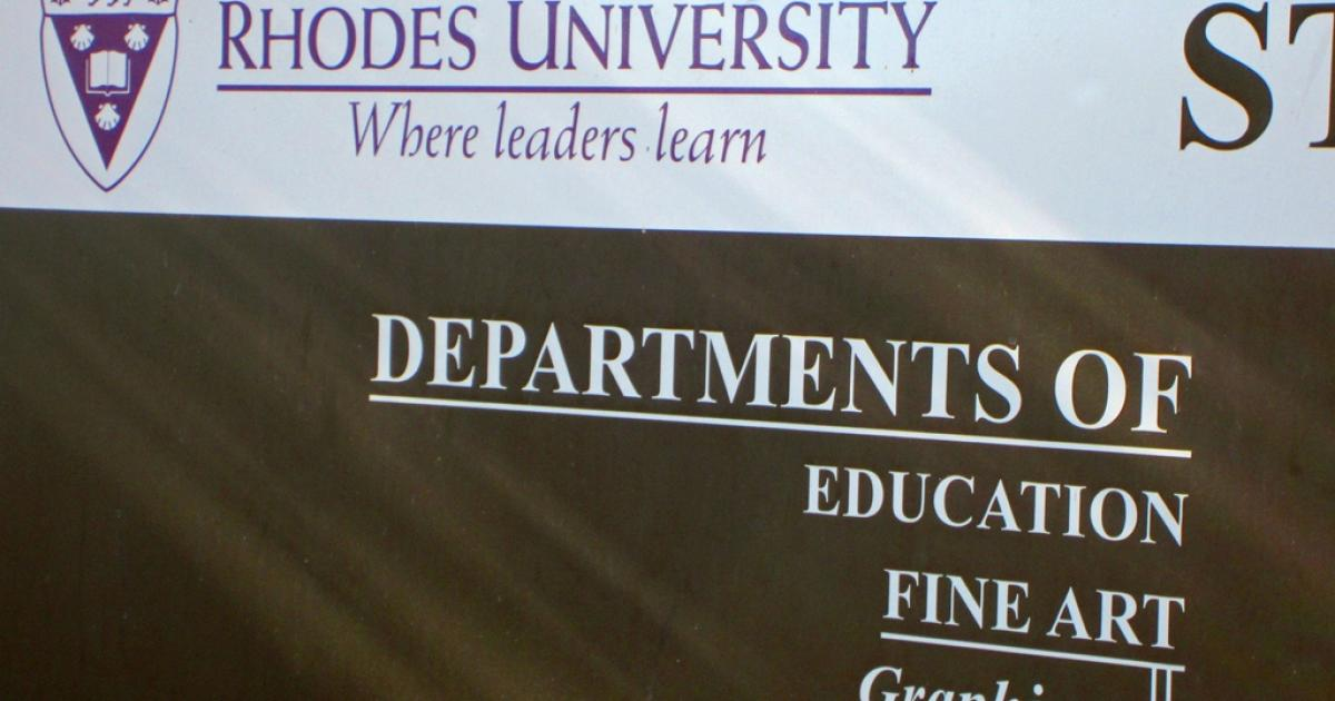Two Found Dead In Rhodes University Residence Enca