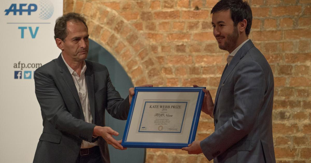 Afghan TV station targeted by Taliban wins AFP award | eNCA
