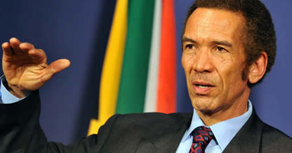 Ian Khama: Zimbabwean lives matter - eNCA