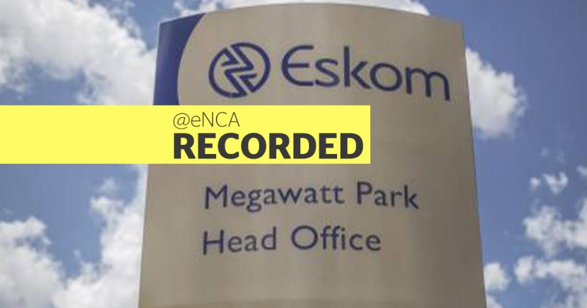 LIVESTREAM: Gordhan to release Special Paper on Eskom - eNCA