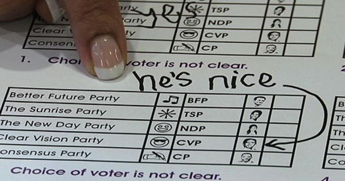 spoilt votes don u0026 39 t count
