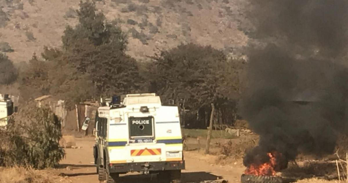 Gomora Informal Settlement In Pretoria Burns During