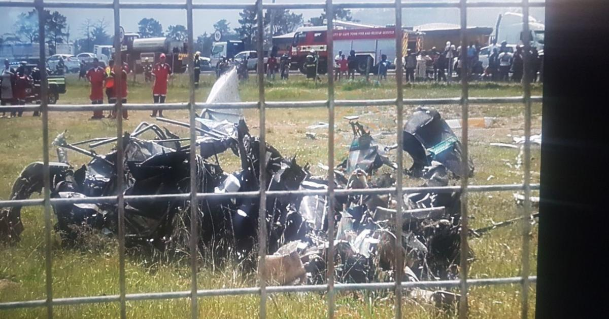 Load Shedding Cape Town Gallery: GALLERY: Fatal Helicopter Crash At Cape Town School