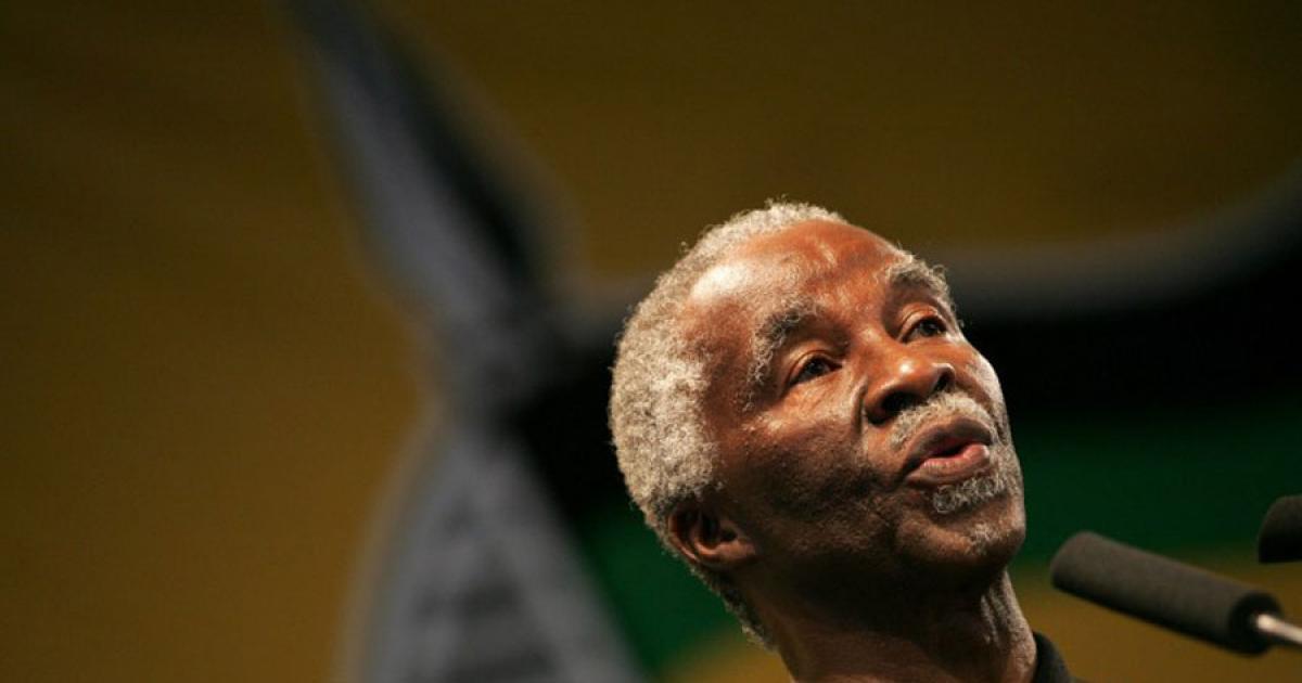 Die ANC sal nie toelaat dat die leier gevange geneem word nie, sê Mbeki - eNCA