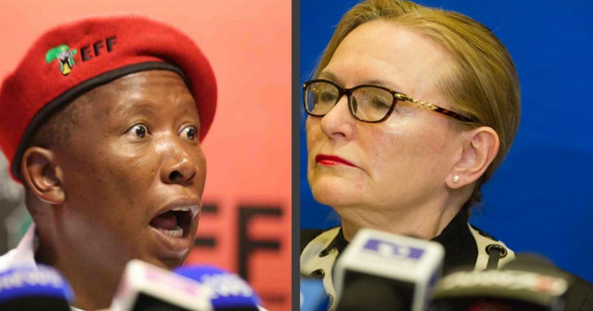 Malema verwerp die uitnodiging van Zille na tee - eNCA