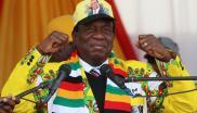 File: Zimbabwe's president-elect, Emmerson Mnangagwa.