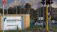 File: An explosion at the Rheinmetall Denel munitions facility in Macassar killed at least eight people and injured more.