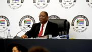 File: Deputy Chief Justice Raymond Zondo says journalists didn't do this in the public interest, but rather to serve their own interests.