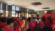 EFF commander in chief Julius Malema tells informal traders to sell consumable products.