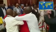 A scuffle broke out during the Limpopo State of the Province Address on Friday.