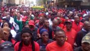 Trade union federation Cosatu Marched on Absa on Thursday demanding the bank pay back a R2.5-billion Apartheid era bailout it got from the Reserve Bank.