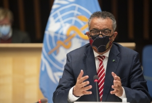 File: World Health Organization (WHO) Director-General Tedros Adhanom Ghebreyesus. (AFP)