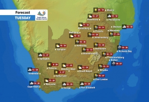 Weather Forecast - Tuesday, 27 October