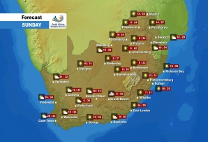 Here is the weather forecast for Sunday, 18 April 2021.