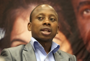 File: Andile Lungisa was convicted for hitting the DA's Rayno Kayser with a water jug during a 2016 council meeting.