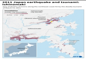 2011 Japan earthquake and tsunami: Ishonomaki