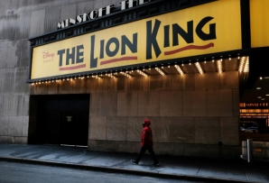 "Capacity limits at New York theaters means that major Broadway productions like ""The Lion King"" can't reopen just yet"
