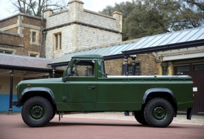 A bespoke Land Rover Defender will be used to transport the coffin of Britain's Prince Philip, Duke of Edinburgh