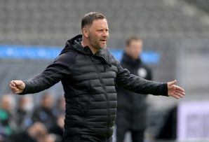 In isolation: coach Pal Dardai is one of four Hertha Berlin staff to have tested positive