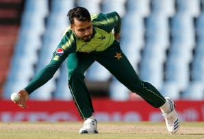 Faheem Ashraf took three for 17 to spark South Africa's collapse in the fourth Twenty20 at Centurion
