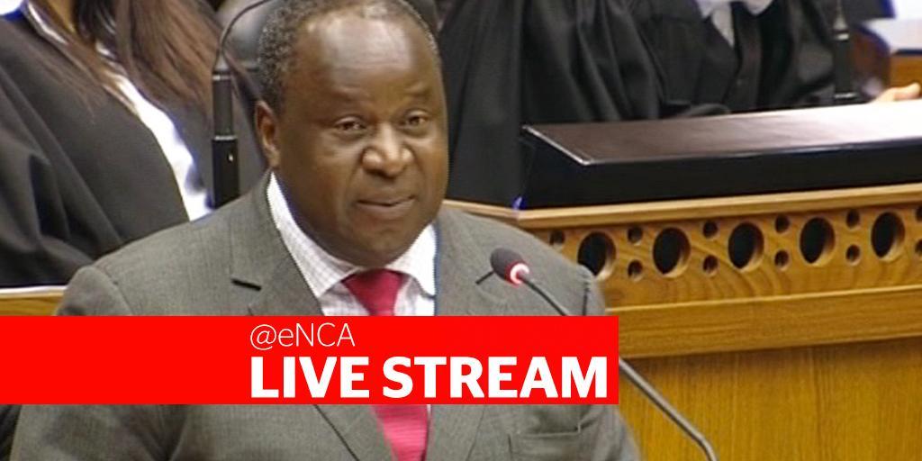 LIVESTREAM: Mboweni delivers Treasury budget address