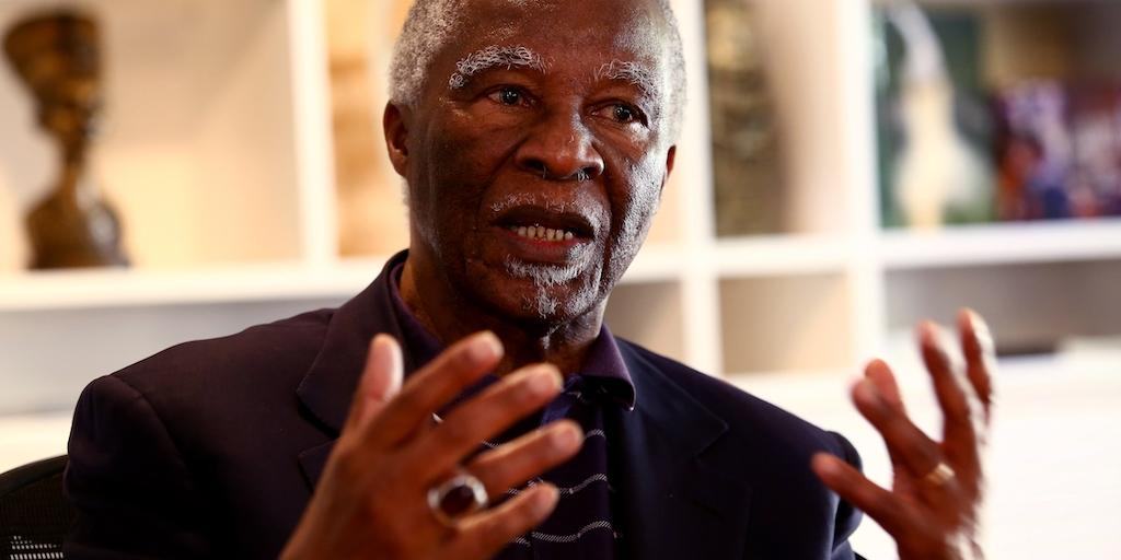 No ANC leader will be captured by monopoly capital: Mbeki