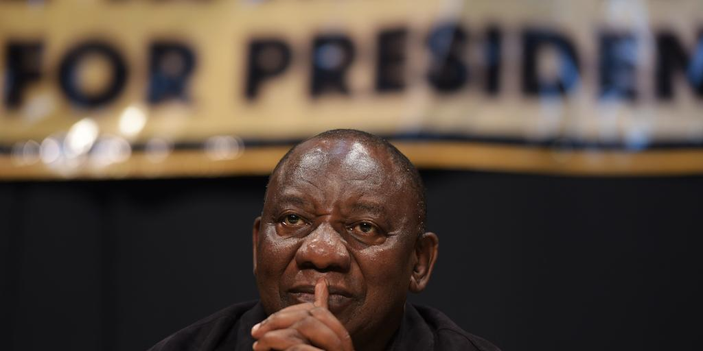 Ramaphosa responds to EFF's CR17 claims