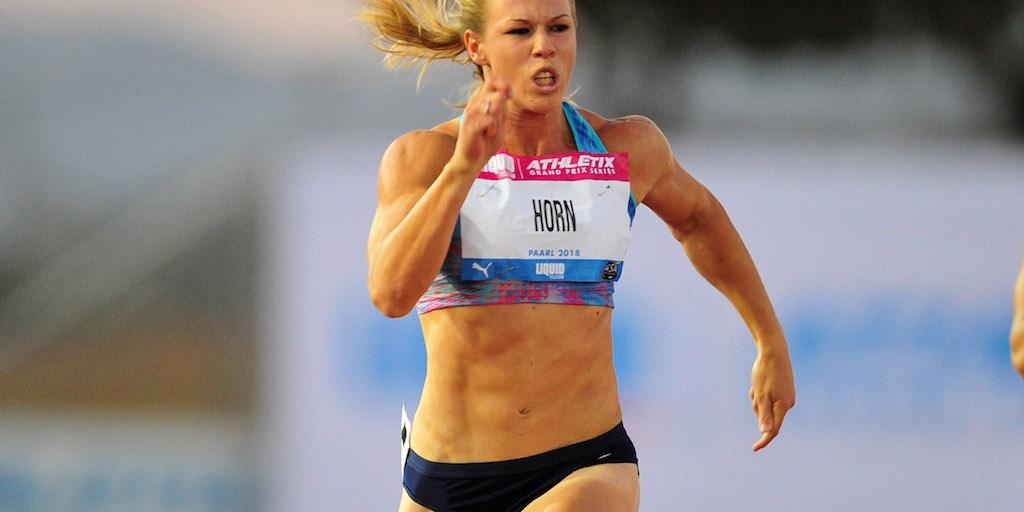 SA sprinter Carina Horn handed provisional doping ban