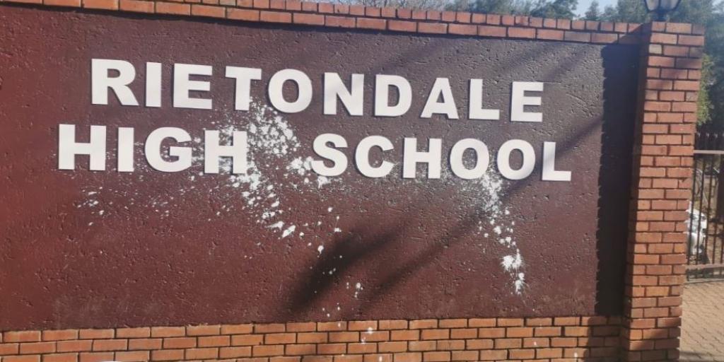 Newly renamed Rietondale High vandalised