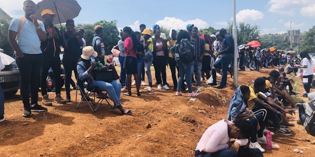 'No walk-in' policy for tertiary registration not curbing queues