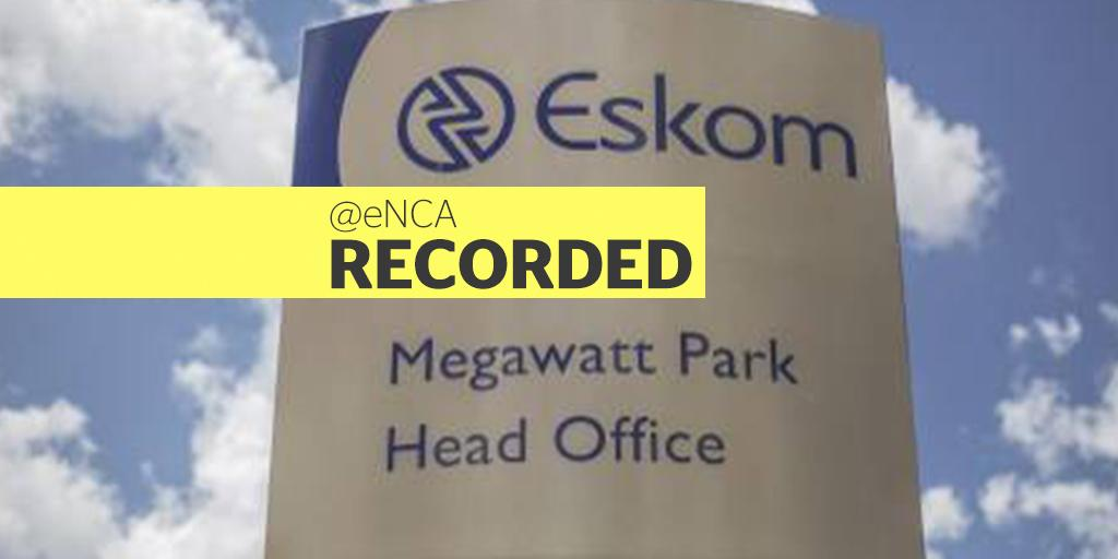 WATCH: Eskom updates SA on state of electricity supply | eNCA