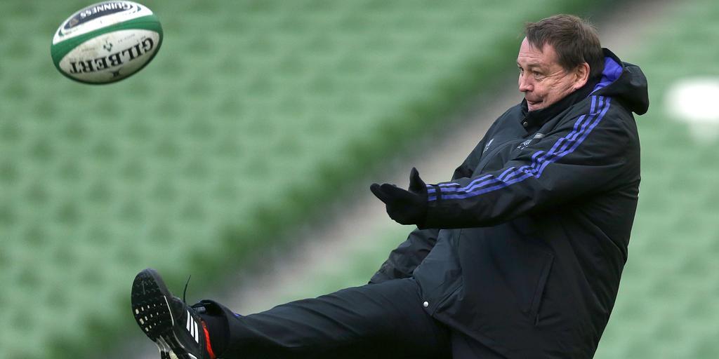 England 'not our fiercest rivals': All Blacks coach Hansen