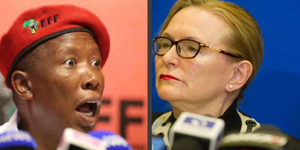 Malema rejects to spill the tea with Zille