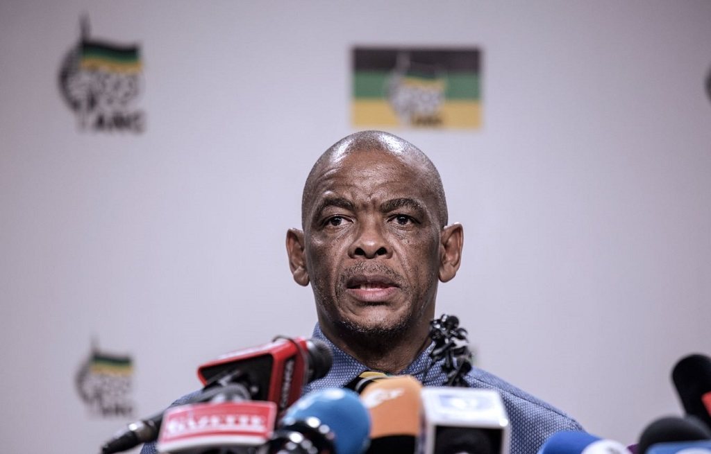File: ANC Secretary General Ace Magashule was accused of playing a role in the launch of the ATM party.