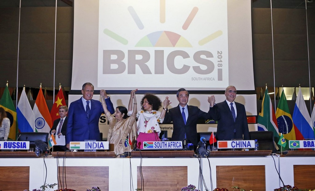Trade War Risk To Dominate Brics Summit In South Africa Enca
