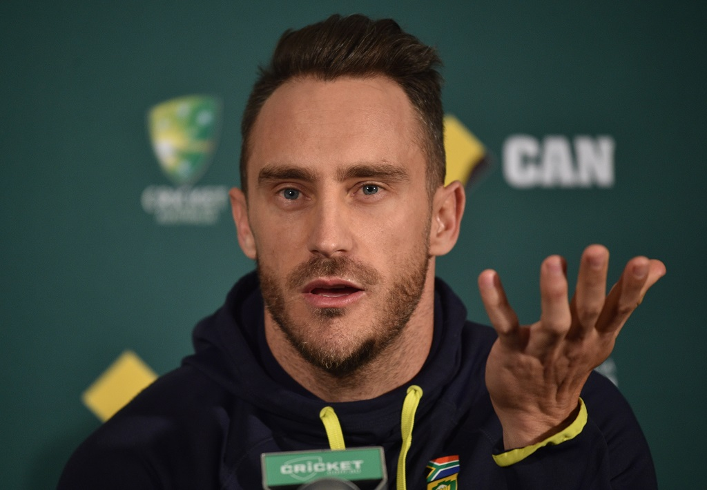Faf braced for hostile reception in Australia