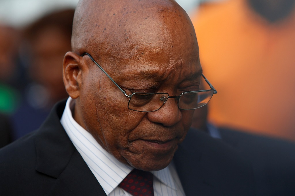 File: Former Communication Minister Siphiwe Nyanda is suing former President Jacob Zuma for R800 000.