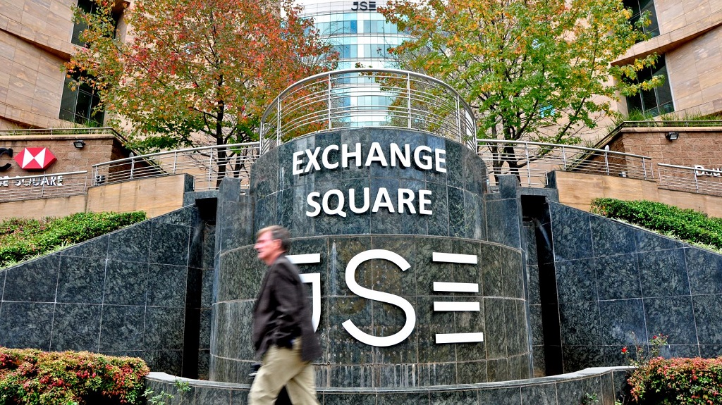 File: The JSE started the week with a third consecutive session of losses on Monday.