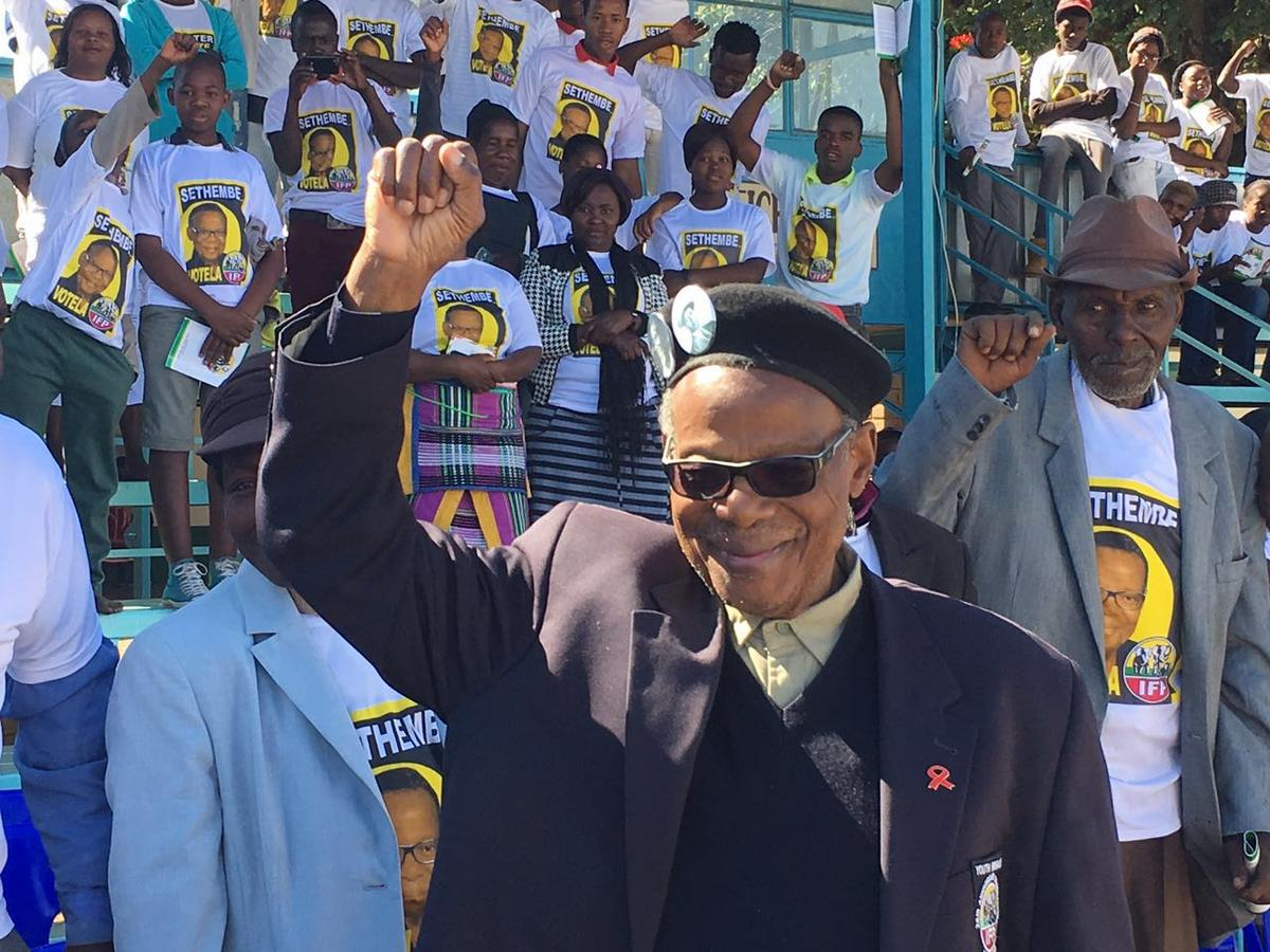 Mangosuthu Buthelezi says he won't be returning to the house after the May 8 polls.