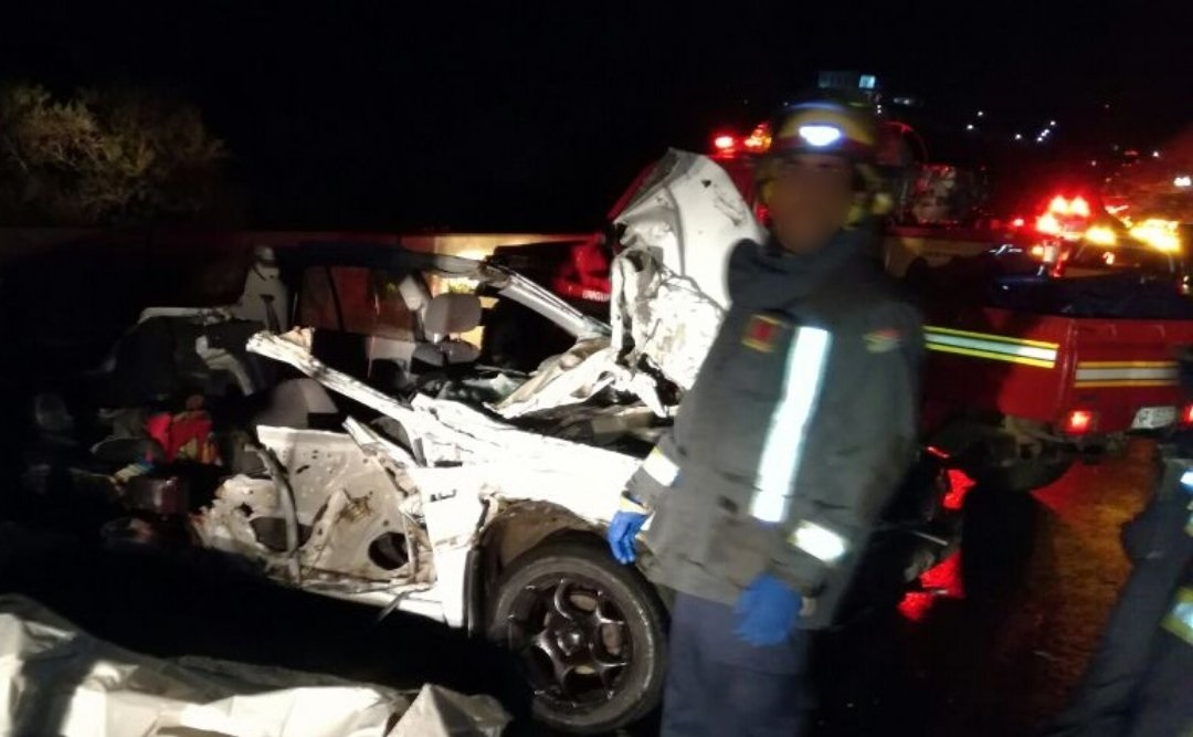 Deadly collision between bus and car on N3 | eNCA