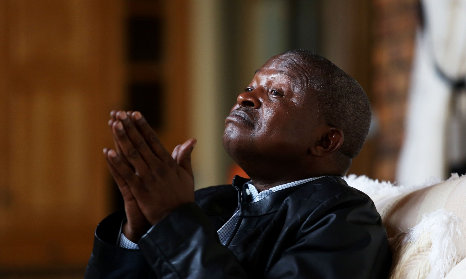 File: Deputy President David Mabuza's whereabouts have been the subject of speculation in recent times, especially the state of his health.